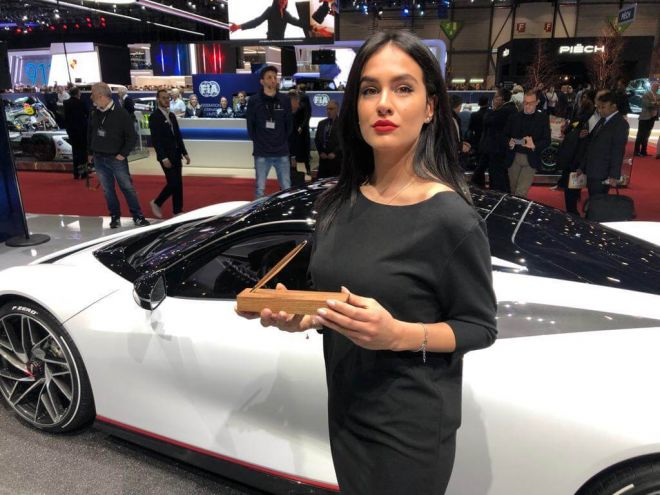 Pininfarina Segno at the Geneva International Motor Show