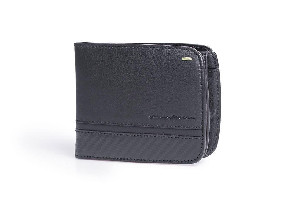a26b805ff792a Pininfarina Folio Accessori Portafoglio Coin 02 Carbon